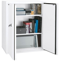 FireKing Storage Cabinet, 2 Shelves, 44-Inch Height