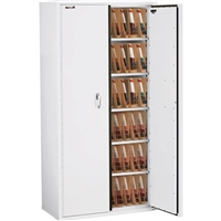 FireKing End Tab Filing Cabinet, Legal Size, 72-Inch Height