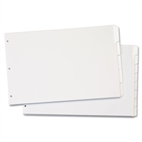 11 x 17 write and erase dividers 1/8th cut