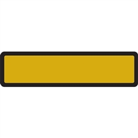 Arden Spine ID Labels - Gold, Blank