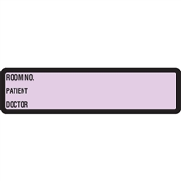 Arden Spine ID Labels - Lavender, Printed