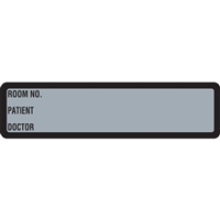 Arden Spine ID Labels - Grey, Printed