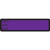 Arden Spine ID Labels - Purple, Printed