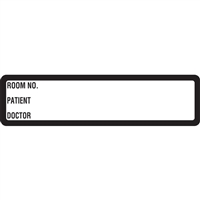 Arden Spine ID Labels - White, Printed