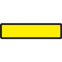 Arden Spine ID Labels - Yellow, Blank