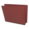 Red Letter Size End Tab Pressboard Folder (DV-S42-02-2RED)