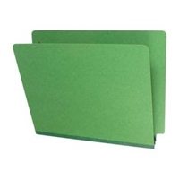 Type III Pressboard Folders, Letter Size, Moss Green, 25/Box (S42-02-3-MG)