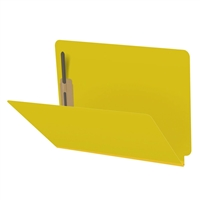 Type III Pressboard Folders, Letter Size, Yellow, 25/Box (S42-02-3-YE)
