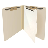 Manila Letter Size End Tab Pressboard Classification Folder (DV-S42-14-M)