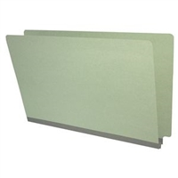 Type II Pressboard Folders, Legal Size, Gray, 25/Box (S52-02-2-GY)