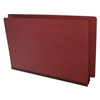 Type II Pressboard Folders, Legal Size, Redrope, 25/Box (S52-02-2-RE)