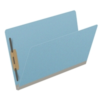 Type III Pressboard Folders, Legal Size, Blue, 25/Box (S52-02-3-BL)