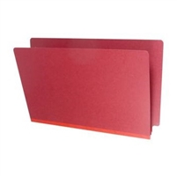 Type III Pressboard Folders, Legal Size, Deep Red, 25/Box (S52-02-3-DR)
