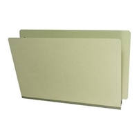 Type III Pressboard Folders, Legal Size, Green, 25/Box (S52-02-3-GR)
