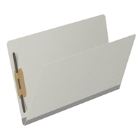Type III Pressboard Folders, Legal Size, Gray, 25/Box (S52-02-3-GY)