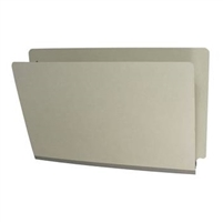 Type III Pressboard Folders, Legal Size, Gray, 25/Box (DV-S52-02-3GRY)