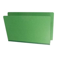 Type III Pressboard Folders, Legal Size, Moss Green, 25/Box (S52-02-3-MG)