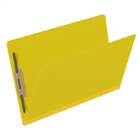 Type III Pressboard Folders, Legal Size, Yellow, 25/Box (S52-02-3-Y)