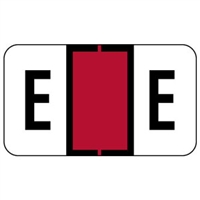 Jeter 0200 Label Letter E (500/Roll)