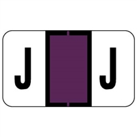 Jeter 0200 Label Letter J (500/Roll)