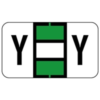 Jeter 0200 Label Letter Y (500/Roll)