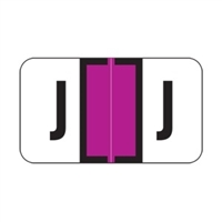 Jeter 2800 Labels Letter J 500/Roll