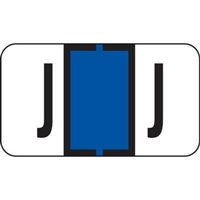 Jeter 7200 Series Labels Letter J 500/Roll
