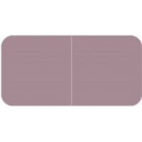 Jeter 9500 Solid Lavender Color Labels (500/Roll)