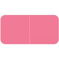 Jeter 9500 Solid Pink Color Labels (500/Roll)