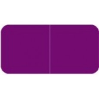 Jeter 9500 Solid Purple Color Labels (500/Roll)