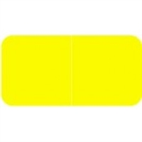 Jeter 9500 Solid Yellow Color Labels (500/Roll)
