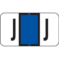 Jeter 7200 Series Labels Letter J 225/Pack
