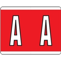 Kardex Alpha Label Letter A (500/Roll)