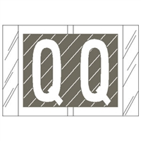 Col R Tab 12000 Label Letter Q 500/Roll