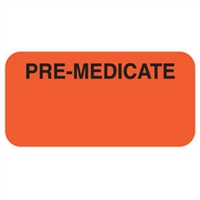 "Tabbies Remind'R'Labels, ""Pre-Medicate Label"", Item 40526"