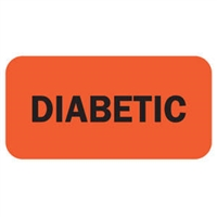 "Tabbies Remind'R'Labels, ""Diabetic"" Label, Item 40528"