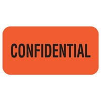 "Tabbies Remind'R'Labels, ""Confidential"" Label, Item 40531"