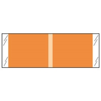 Kardex Solid Color Labels 53500-Series Orange 53507