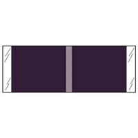 Kardex Solid Color Labels 53500-Series Violet 53508