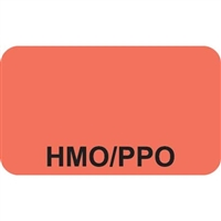 Insurance Labels, HMO/PPO, 250/Box (MAP1040)