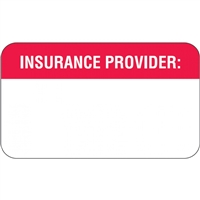 Insurance Labels, Insurance Provider, 250/Box (MAP1110)