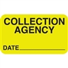Collection Agency Label MAP2180