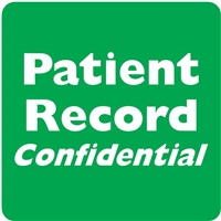 Patient Record Confidential Label, Green, 2 x 2, Roll/500