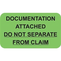 Insurance Claim Labels, Documentation Attached, 250/Box (MAP2650)