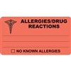 Allergies Drug Reactions Label MAP327