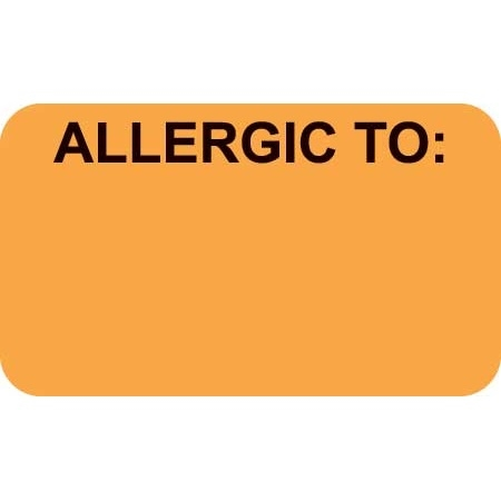Allergic To Label MAP3320