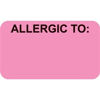 Allergic To Label MAP3350