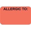Allergic To Label MAP3390