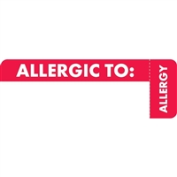 Allergy Label MAP6430