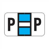 POS 2000 Label Letter P (240/Pack)